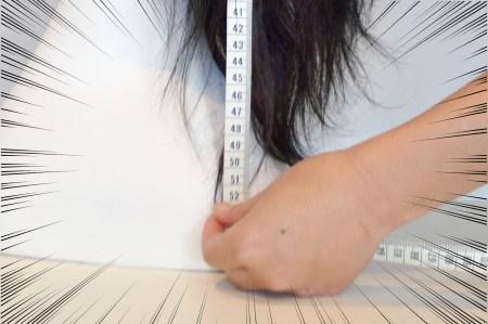 髪の長さの表記と、実際の長さのズレ。