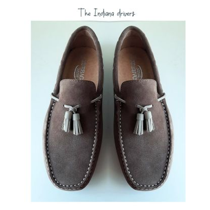 mocasin conductor taupe