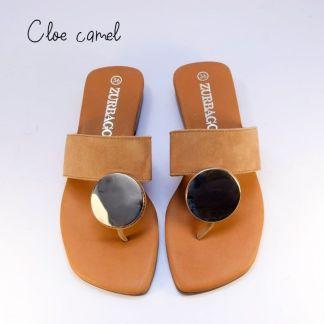 sandalia camel
