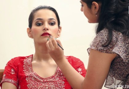Indian bridal makeup 42