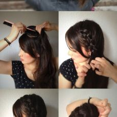 Ponytail hairstyles for long hair 07