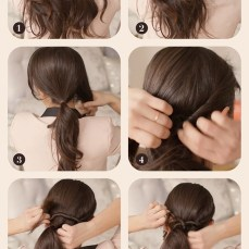 Ponytail hairstyles for long hair 20