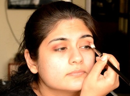 Indian bridal makeup 50