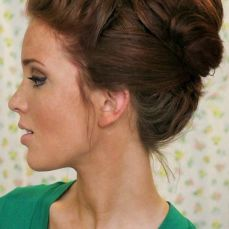 Bridal hairstyles buns 11