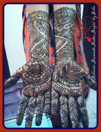 mehndi designs by nihaad 06