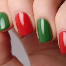 Simple nail art designs 46
