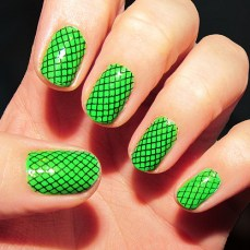 Simple nail art designs 47