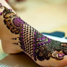 latest mehandi designs 2014 03
