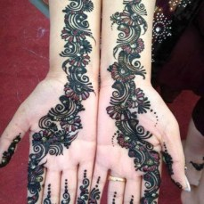 latest mehandi designs 2014 05