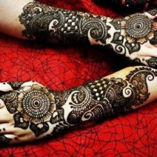 latest mehandi designs 2014 12