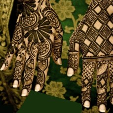 latest mehandi designs 2014 13