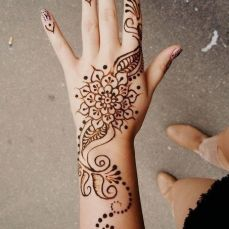 latest mehandi designs 2014 15