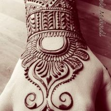 latest mehandi designs 2014 18