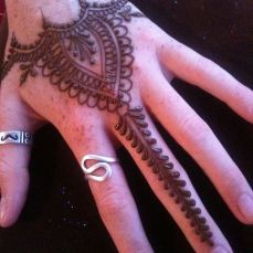 latest mehandi designs 2014 33