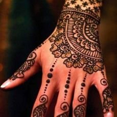 latest mehandi designs 2014 37