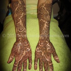 Mehndi design by Karuna 11