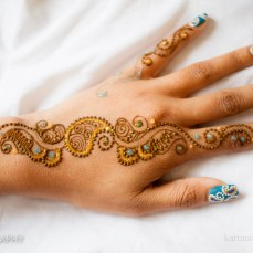 Mehndi design by Karuna 16