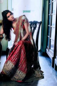 Designer sarees for Bengali bride 04