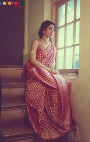 Designer sarees for Bengali bride 05