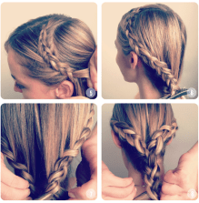 Easy hairstyles to do on Valentines day 05