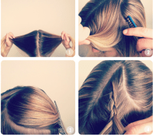 Easy hairstyles to do on Valentines day 09