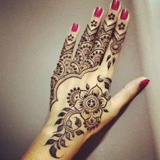 Arabic mehndi designs 11