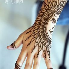 Arabic mehndi designs 12