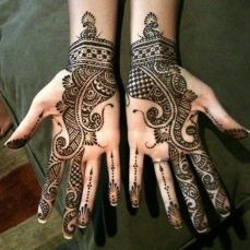 mehndi design for the summer bride 24