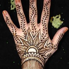 mehndi design for the summer bride 32