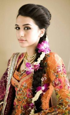 Indian bridal hairstyle images 08
