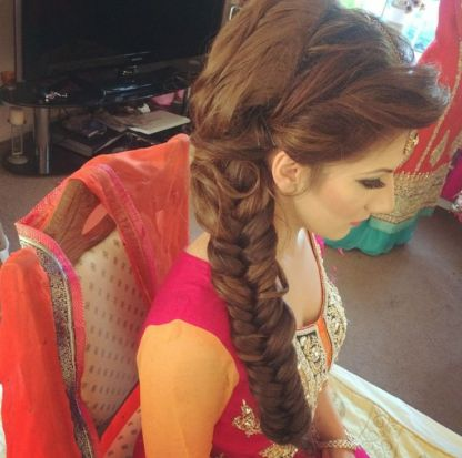 Indian bridal hairstyle images 14