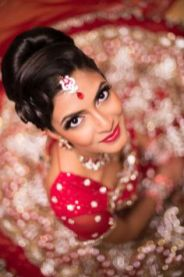 Indian bridal hairstyles 53