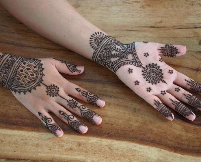 Mehndi Designs Inspired by Indian summer 03