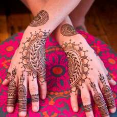 Mehndi Designs Inspired by Indian summer 08
