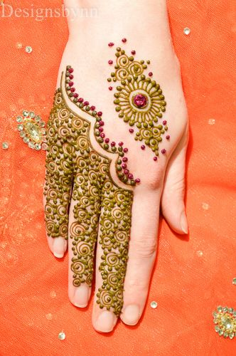 Simple mehndi designs 13