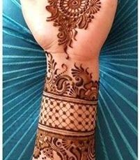 Simple mehndi designs 17