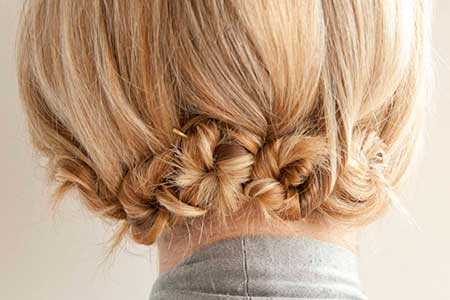 Indian wedding hairstyles for short hair 12