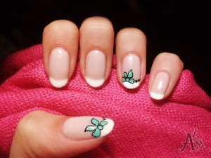 French nail art 03