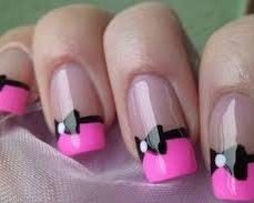 French nail art 09