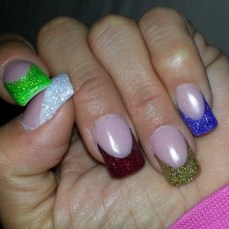 French nail art 12