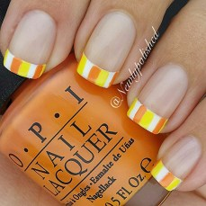 French nail art 19
