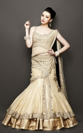 Designer saree trends 14