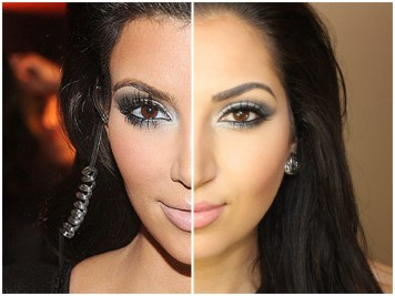 Kim Kardashian eye makeup 02