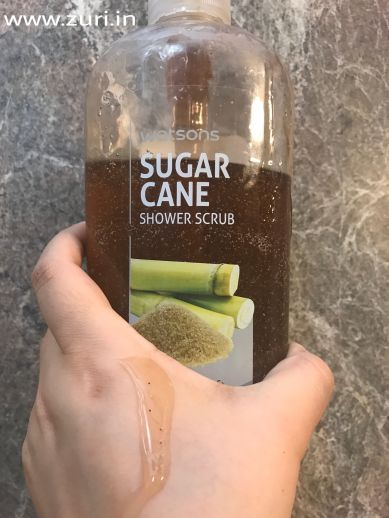 Watsons Sugarcane Shower Scrub 06