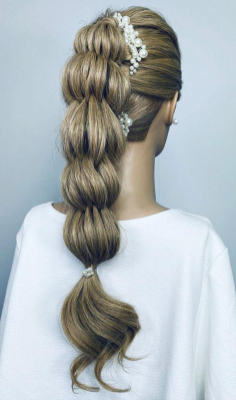 party hairstyles 70