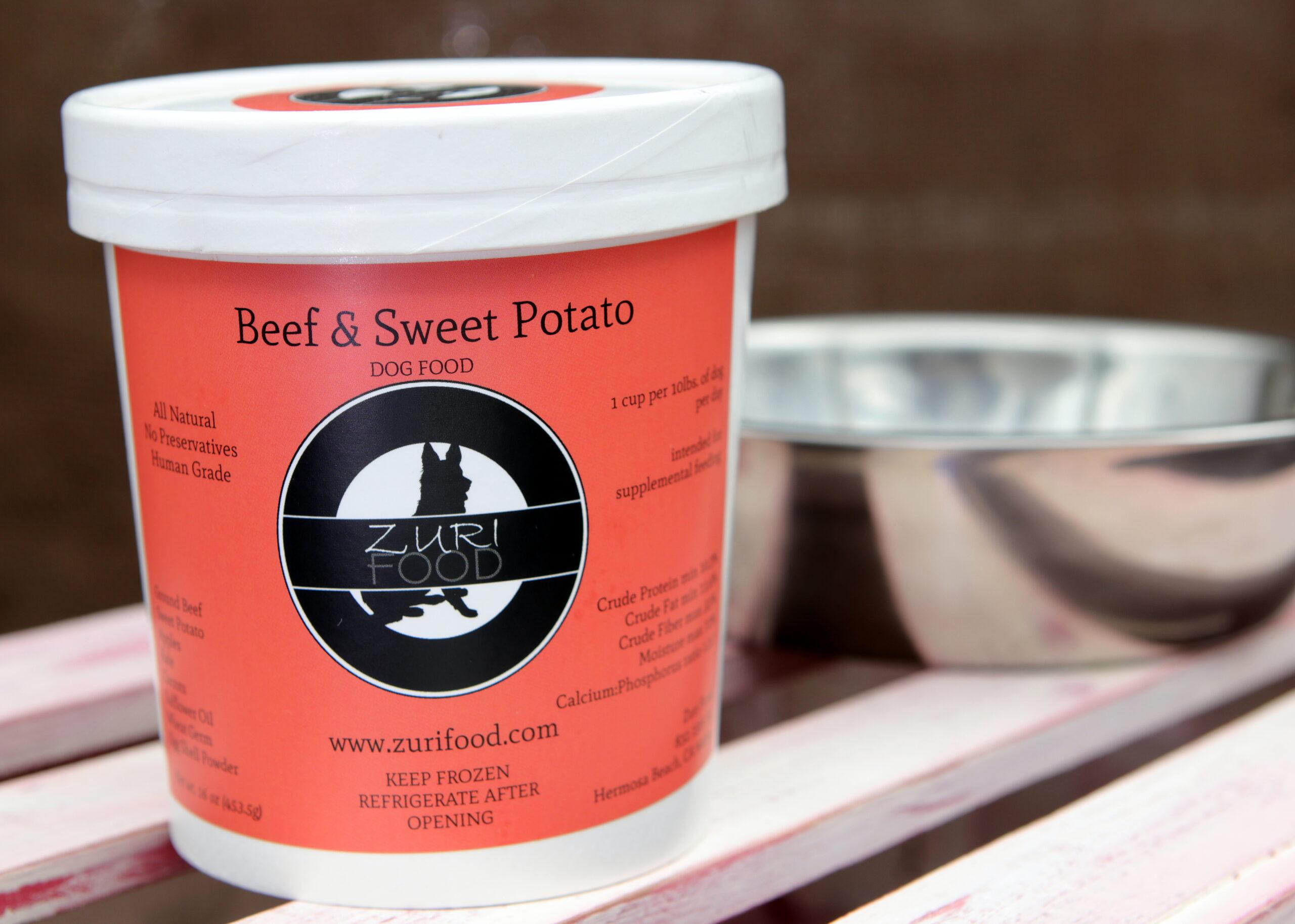 Beef & Sweet Potato