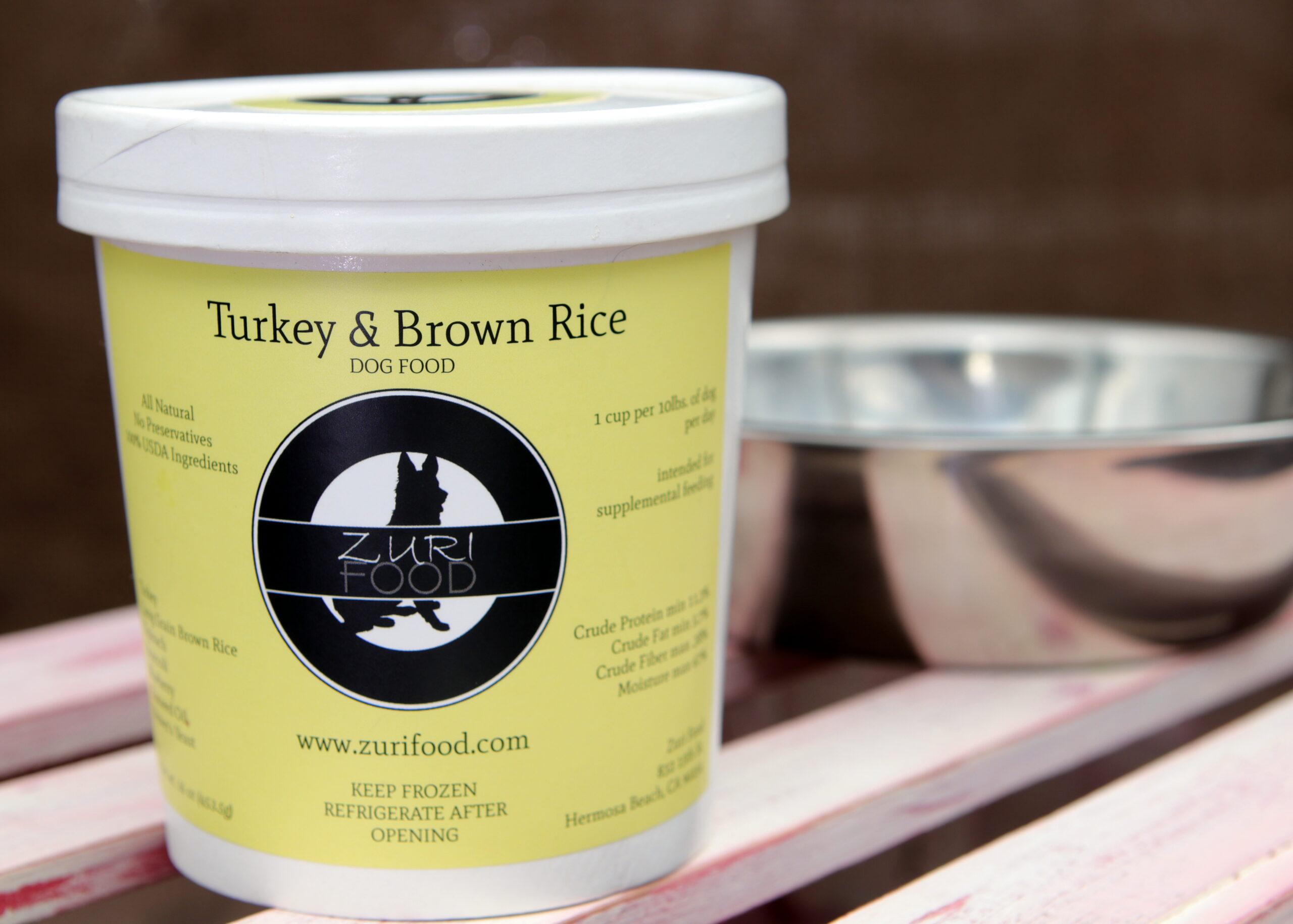 Turkey & Brown Rice