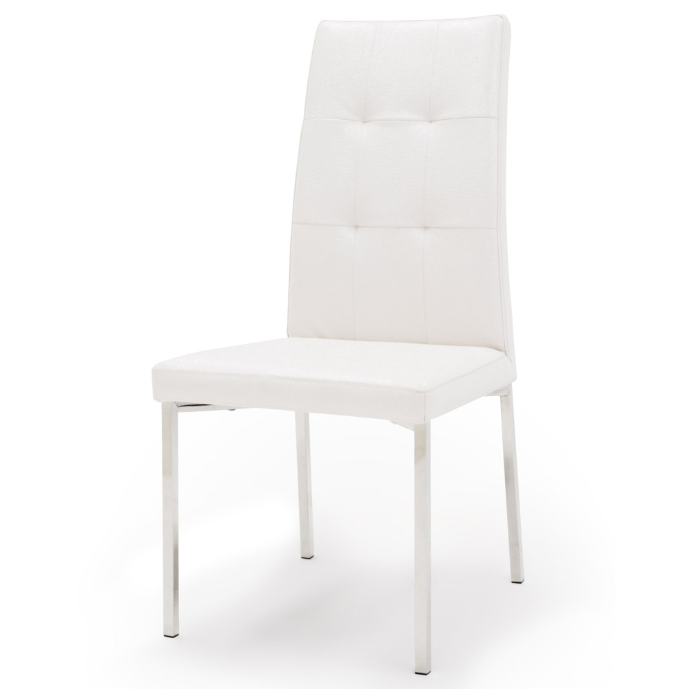 White Wooden Dining Chairs Charlotte Dining Chair White