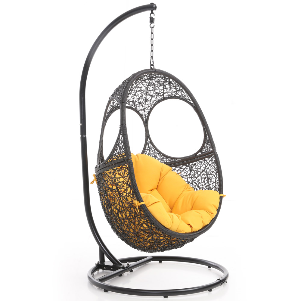 Bird Nest Chair Malaga Swing Chair Black