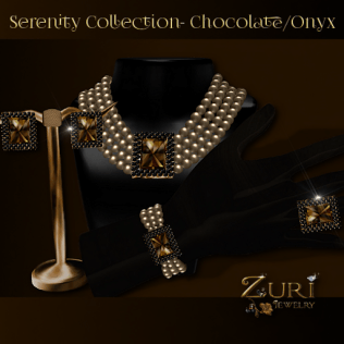 Serenity Collection - Chocolate-Onyx